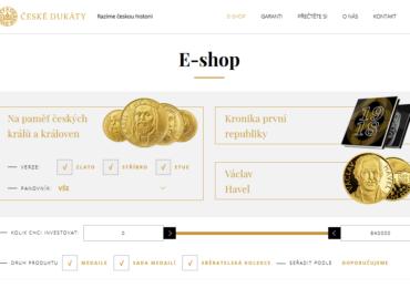 Skvěle vypadající a funkční e-shopy napojené na fakturační systémy a bankovní účty.